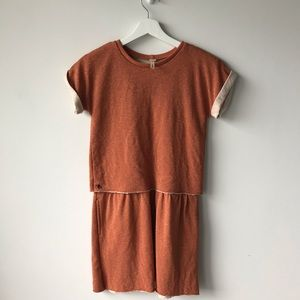 Bellerose girls dress layers Sz 12 shimmer